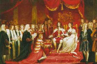 Coronation of William III and Mary II